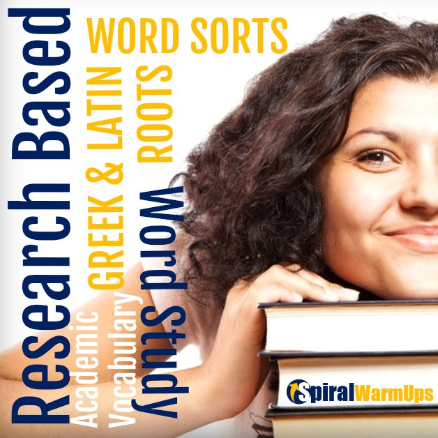 What does the research say for word study in upper elementary and middle school?